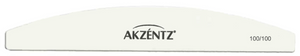 Akzentz White 100/100 Curved Files - Single