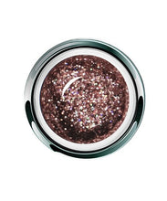 Load image into Gallery viewer, UV/LED GEL PLAY - GLITTER ROSY DAZZLE   4gm
