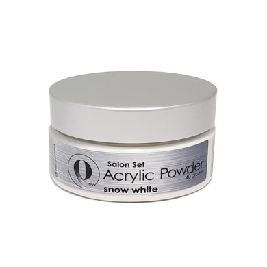 Onyx Acrylic Powder SALON SET - Snow White 40gm