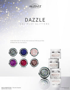 UV/LED GEL PLAY - GLITTER HALO DAZZLE 4gm
