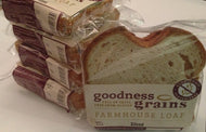 Gluten Free Farmhouse Loaf  WHITE - Convenient 2 Slice Pack x 36