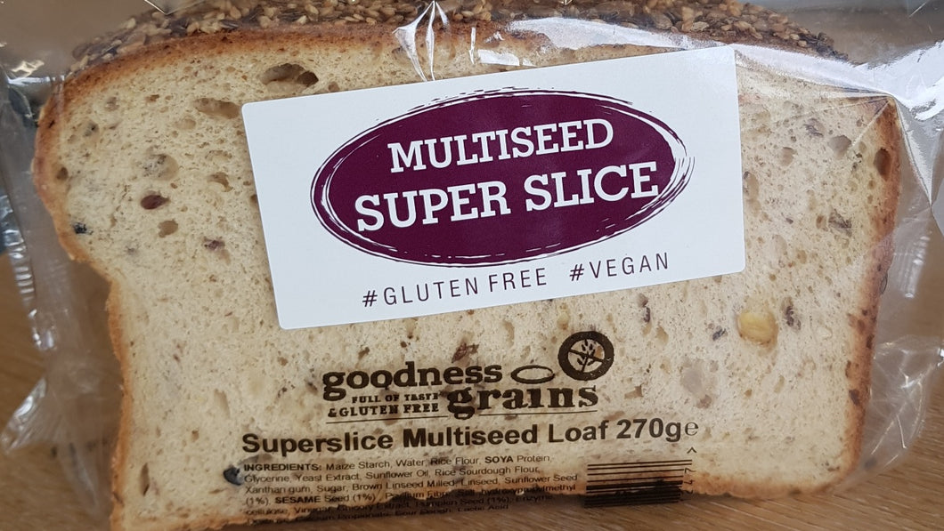 NEW Multiseed Superslice 270g Loaf