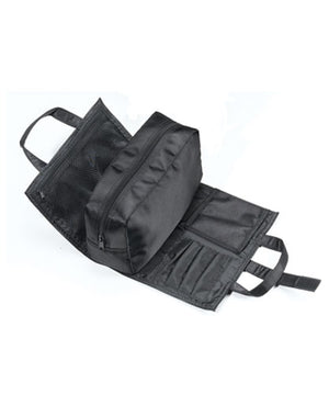 Black nylon Carry All Bag conveniently organizes all of your Rich & Thick HAIR™ products.