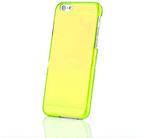 iPhone 6 Case, iPhone 6 Hard cases- Yellow Shell Hardbox Protective Case by Cable and Case - Yellow Hard Case