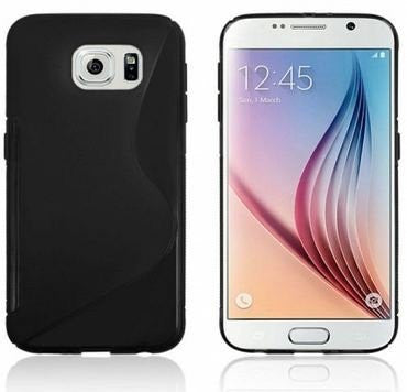 Galaxy s6 Case, Galaxy s6 Cases- Compatible With Samsung Galaxy s6 SIV S IV i9600 - Soft Shell Cover Skin Cases By Cable and Case - soft-orange-case