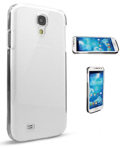 S4 Case, Samsung Galaxy S4 Case [2 Pack] -[Crystal Clear Hard Shell]- Compatible With Samsung Galaxy S4 SIV S IV i9500 - Hard Shell Cover Skin Cases By Cable and Case In Retail Package - Clear S4 Cases
