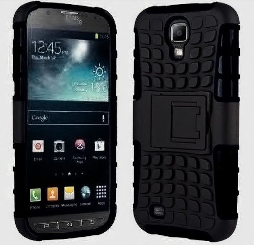 purchase cheap b6c78 99be2 Galaxy S4 Case, Samsung Galaxy s4 Armor cases [HEAVY DUTY] Tough Armorbox  Dual Layer Hybrid Hard/Soft Protective Cover by Cable and Case [Samsung ...