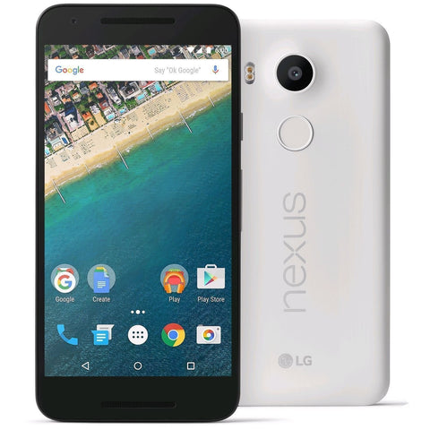 LG Nexus 5X Unlocked White, 32GB Storage (Like New)