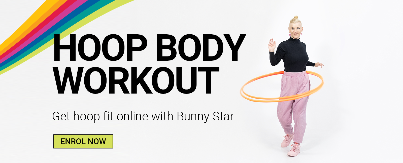 Online Hula Hoop Course with Bunny Star - Hoop Body Workout