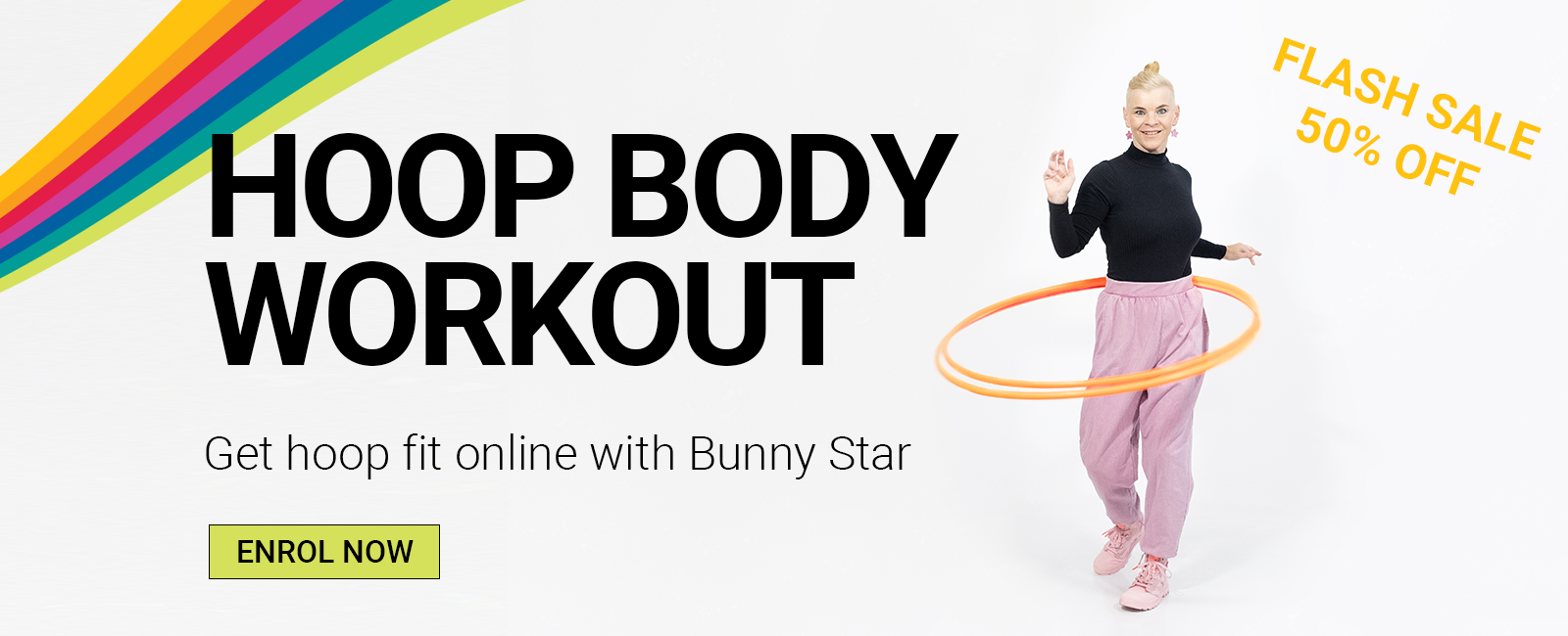 Hoop Body Workout Online Hula Hoop Course with Bunny Star