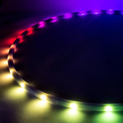 LED Hula Hoop Australia - Rainbow Unicorn LED Hula Hoop