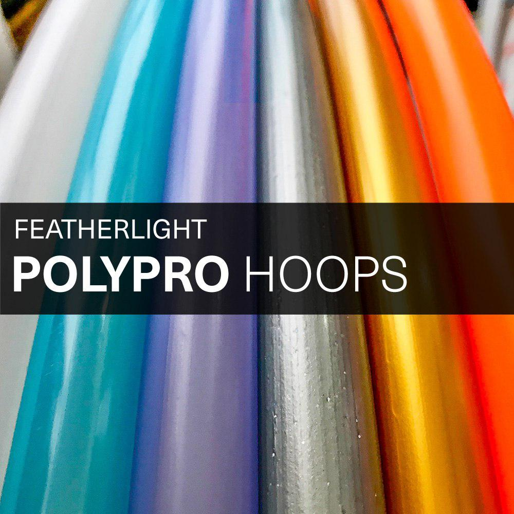 Featherlight PolyPro Hula Hoops