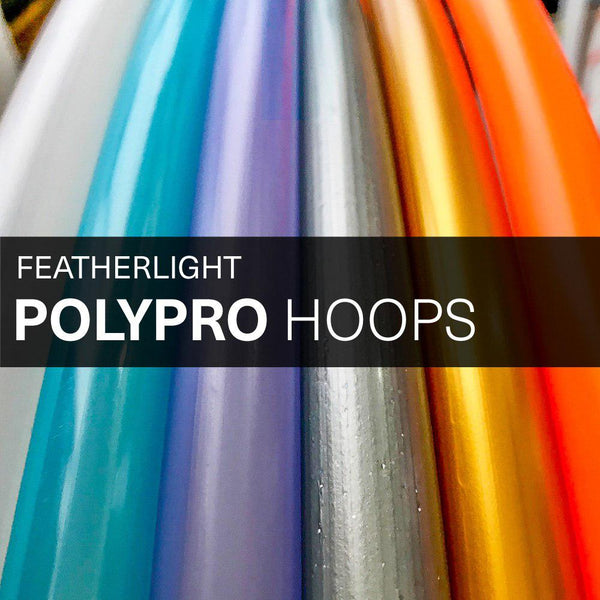PolyPro Hula Hoops - Featherlight