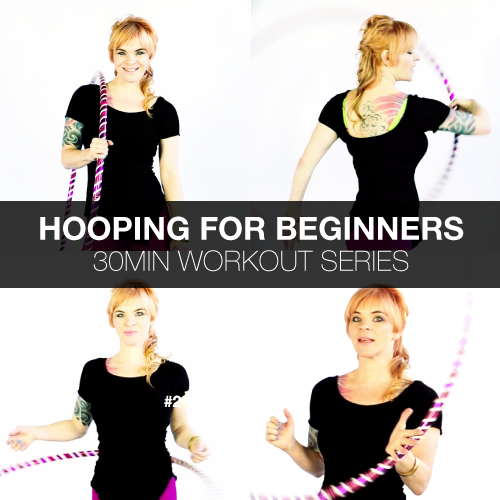 Weighted Hula Hoop Workout