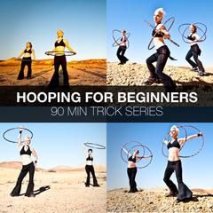 BEGINNERS: 90 MINUTE LESSON - HULA HOOP TRICKS + MOVES