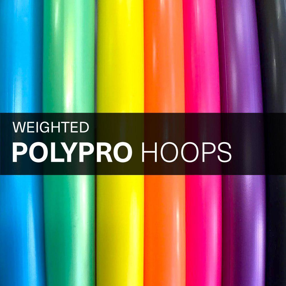 PolyPro Hula Hoops Weighted