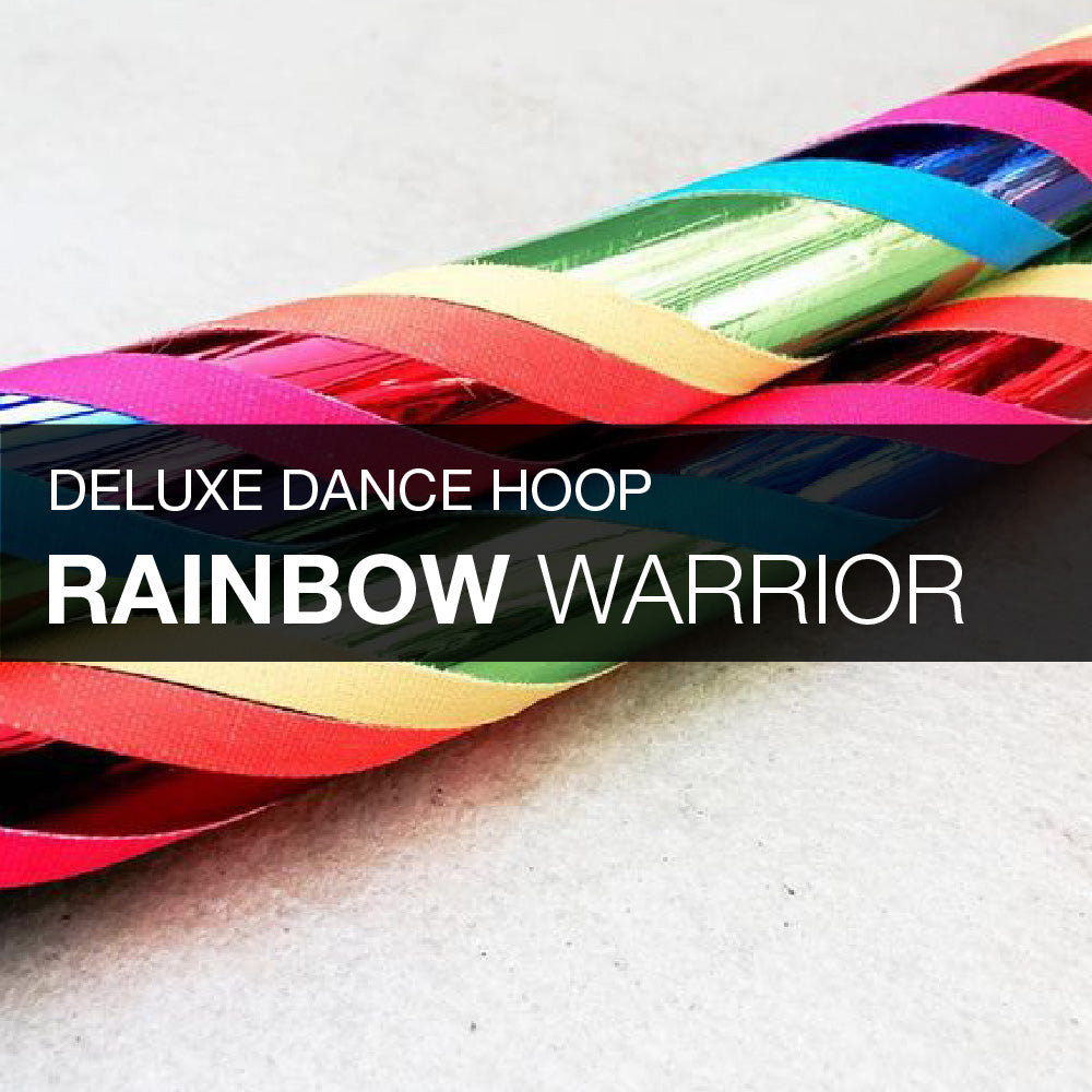 Rainbow Warrior Dance Hula Hoop