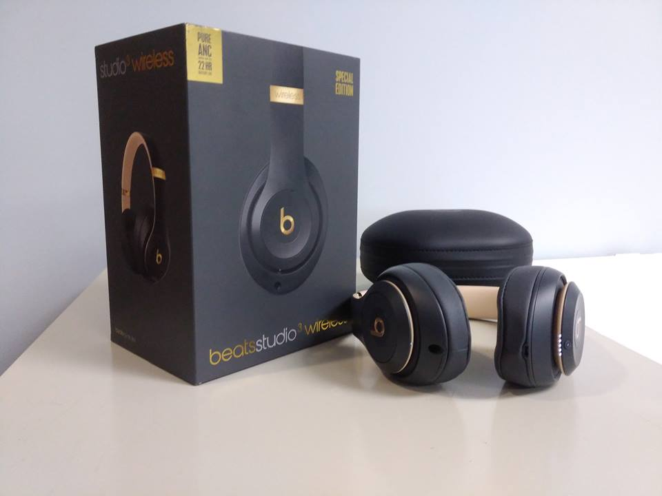 Beats by Dr. Dre Studio3 Headband Wireless Headphones - Shadow Grey