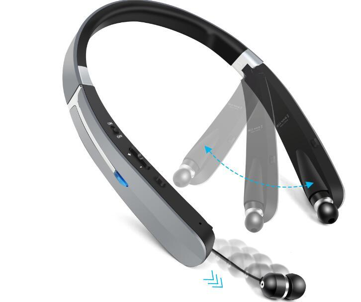 TOPROAD Outdoor Sports Wireless Foldable Bluetooth Headset