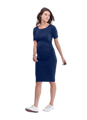 "Robe  maternité ""The ruched t-shirt maternity dress"", by Isabella Oliver"