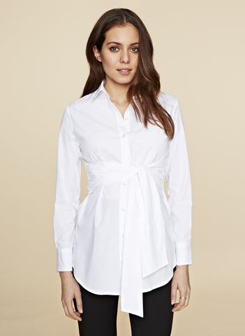 "Chemise maternité ""Tie front blouse"", by Isabella Oliver"