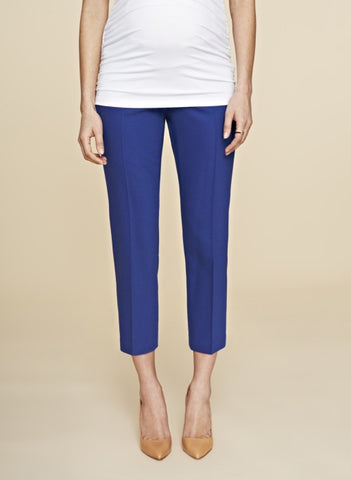"Pantalon maternité ""Wardour tailored pant"", by Isabella Oliver"