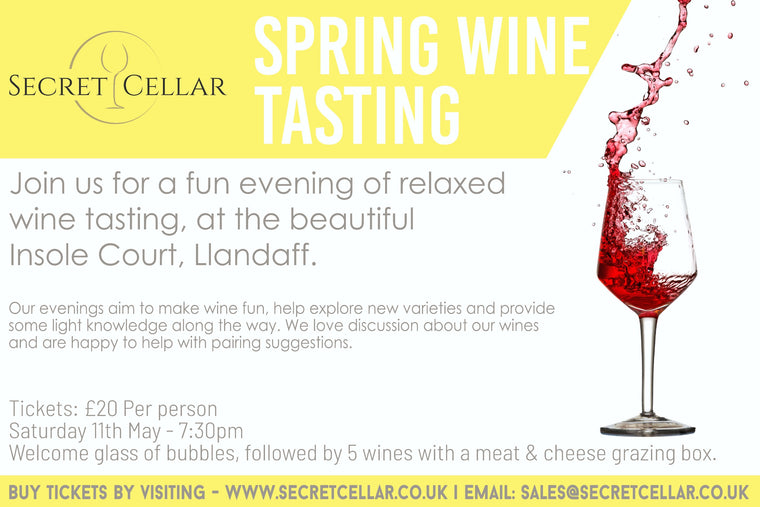 Spring wine tasting evening at Insole Court, LLandaff