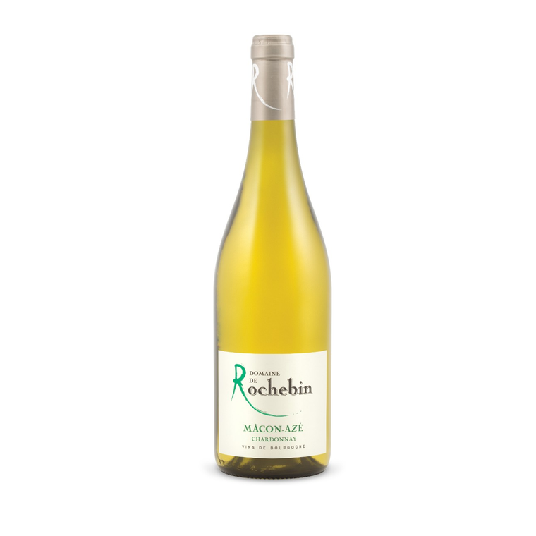 Chardonnay, Domain De Rochbin Macon Villages 2016 - giornos
