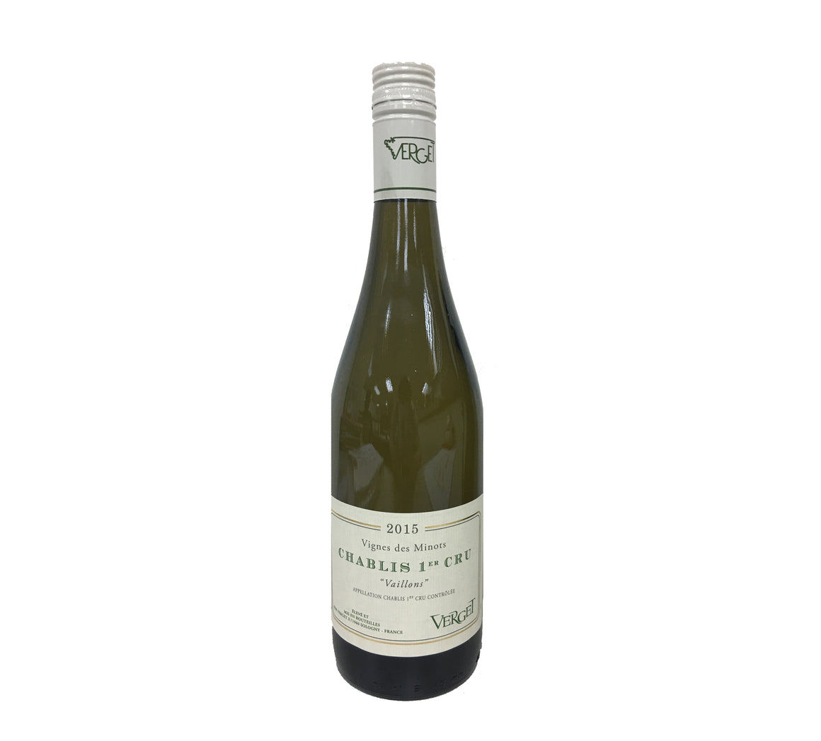 Chablis Vaillons VV Minots, Verget, 2015 - Secret Cellar