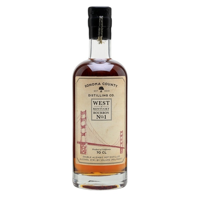 Sonoma County Distillery, West of Kentucky Bourbon No.1 - Secret Cellar
