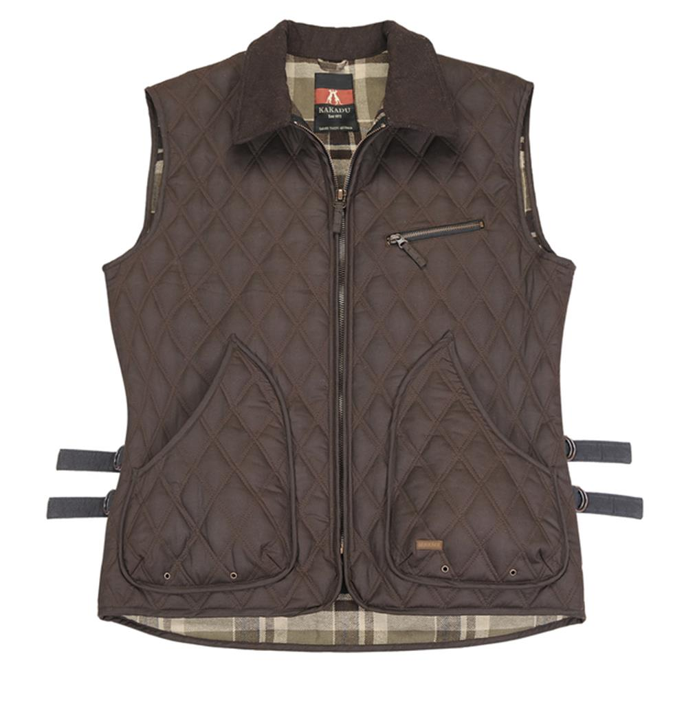 Women's Fremantle Vest in Brown