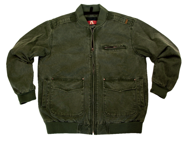 BOMBER JACKET in Loden