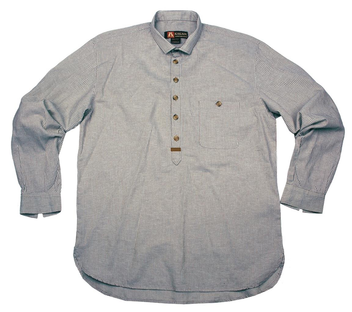 Balmoral Shirt in Blue/White