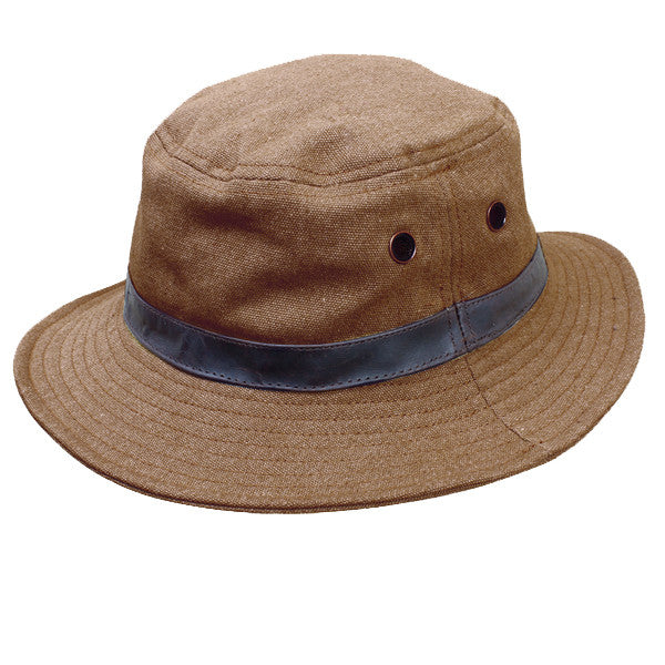WILKIN HAT in TOBACCO