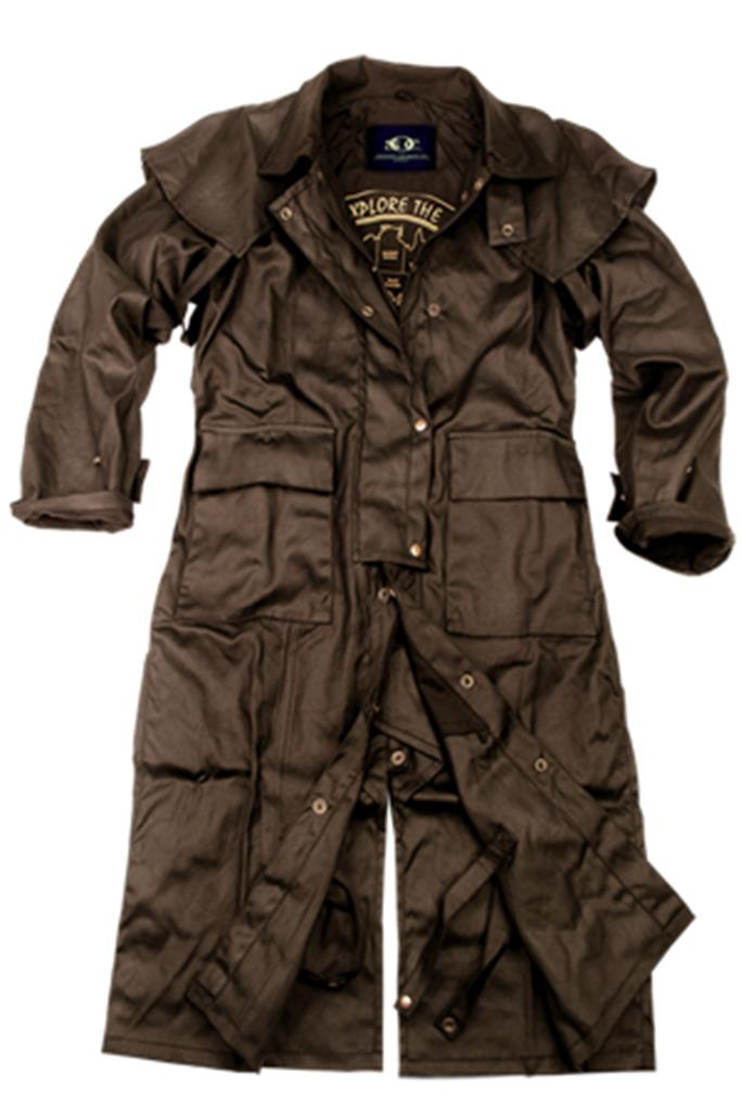 Workhorse Drovers Coat in Brown