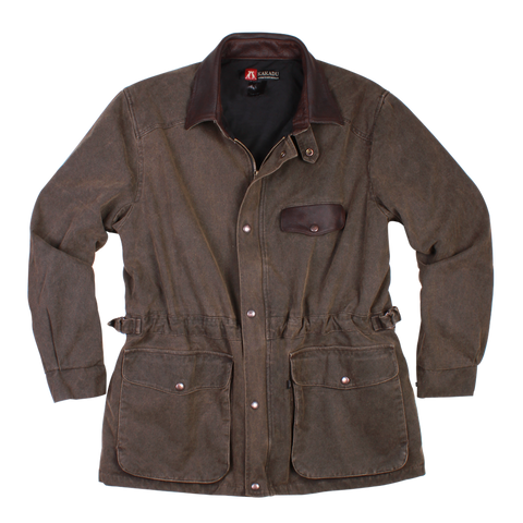 Gunn Worn Pilbara Jacket in Espresso