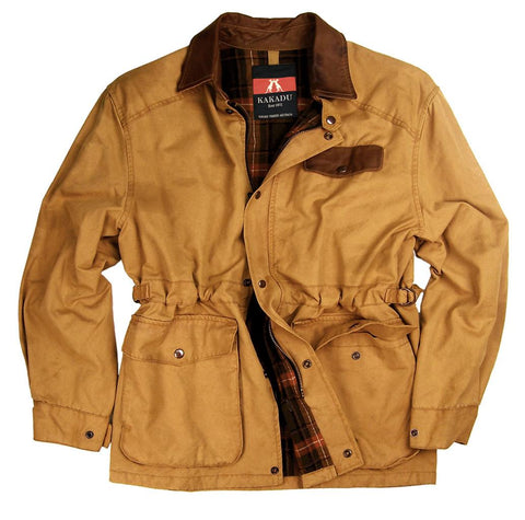 Gunn Worn Pilbara Jacket in Mustard