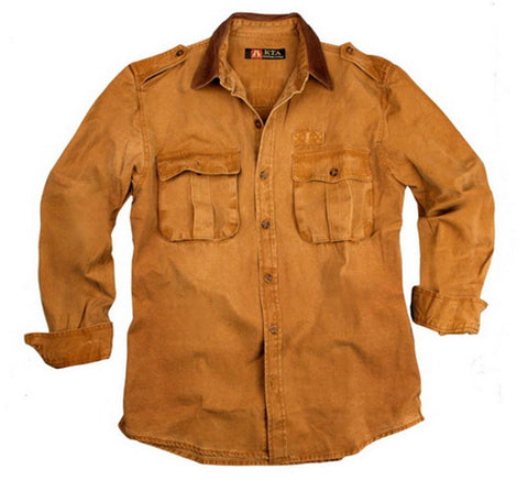 Southern Cross Shirt in Mustard