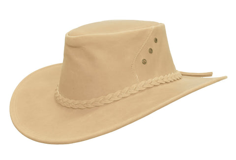 Kakadu The SOC ALICE HAT in Tan Leather