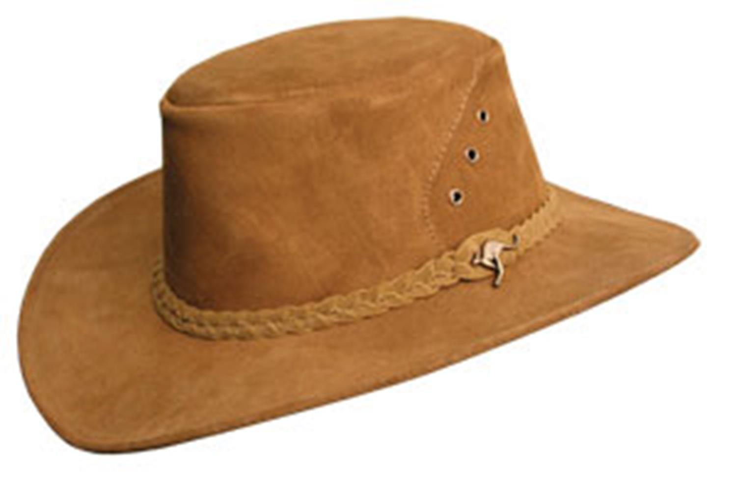 Kakadu ALICE HAT in Rust Suede Leather