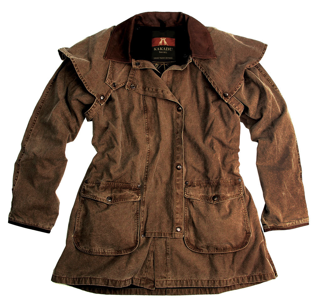 Gold Coast Drover Jacket in Tobacco