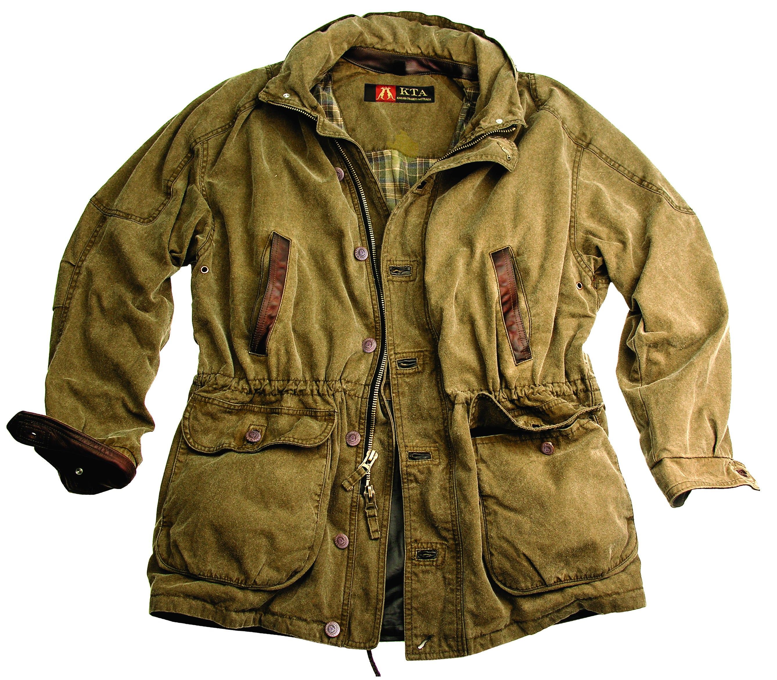 Kings Cross Jacket in Khaki
