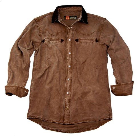 Nashville Shirt in Tobacco