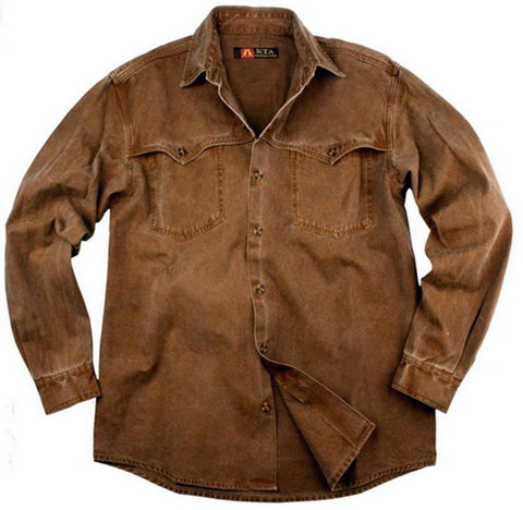 Station Shirt in Tobacco
