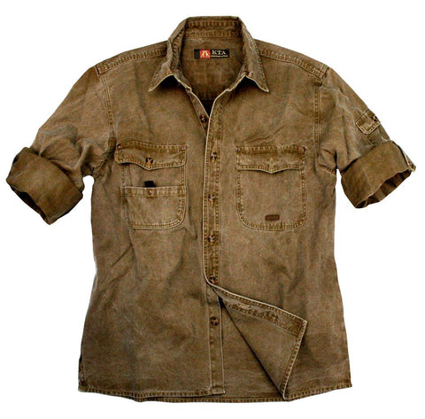 Toorak Shirt in Khaki