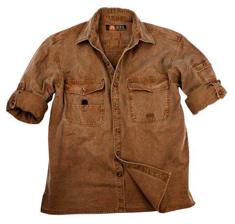 Toorak Shirt In Tobacco