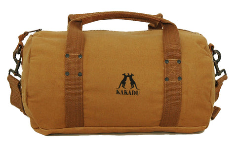 Small Burro Duffle Bag in Tobacco