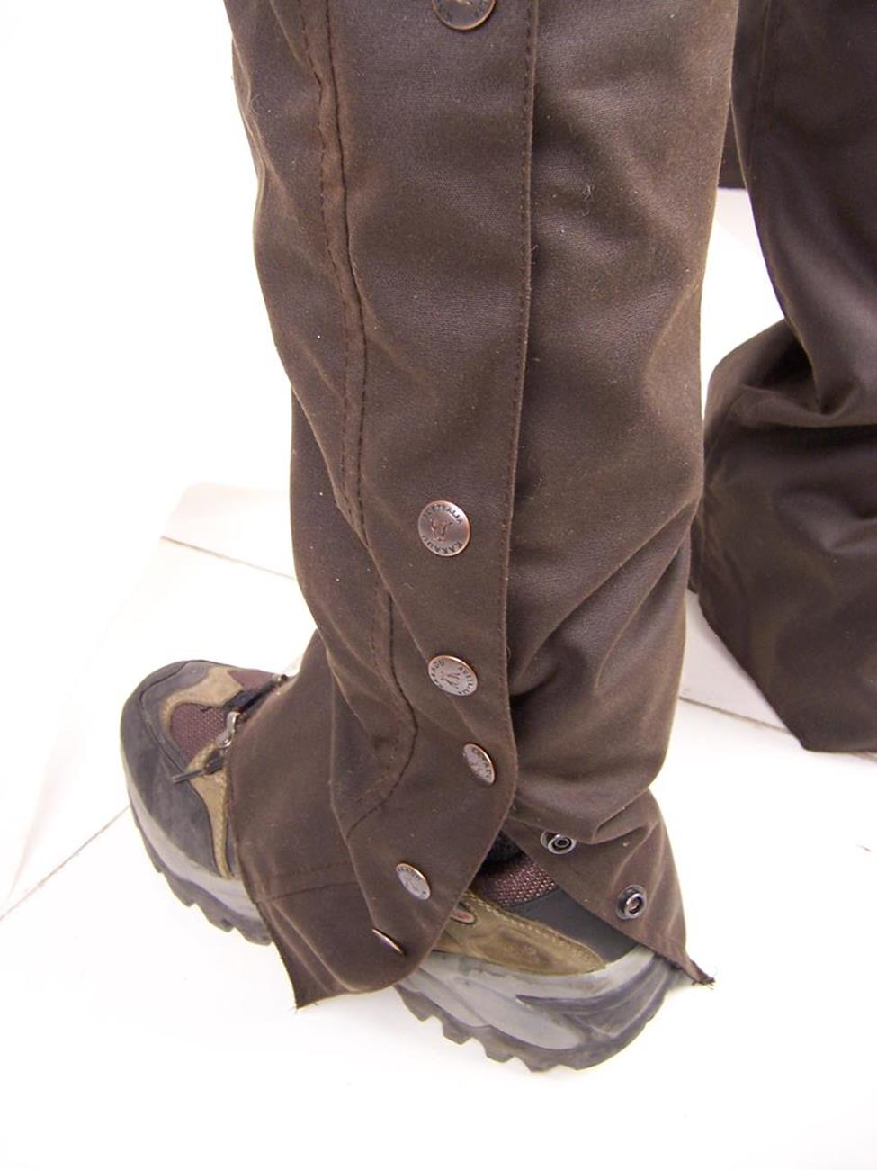Ventilator Chaps in Brown