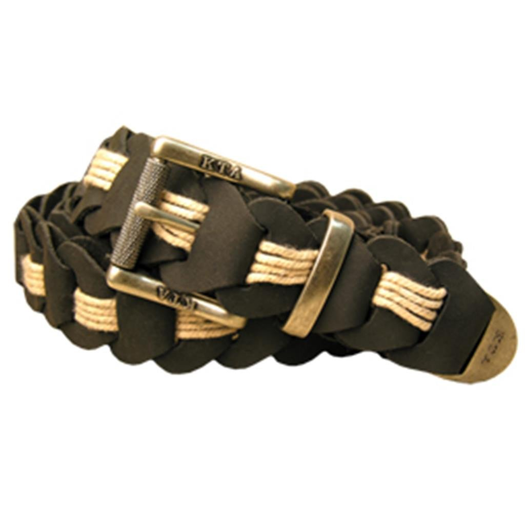 Lincoln Hand Braided Belt in Black
