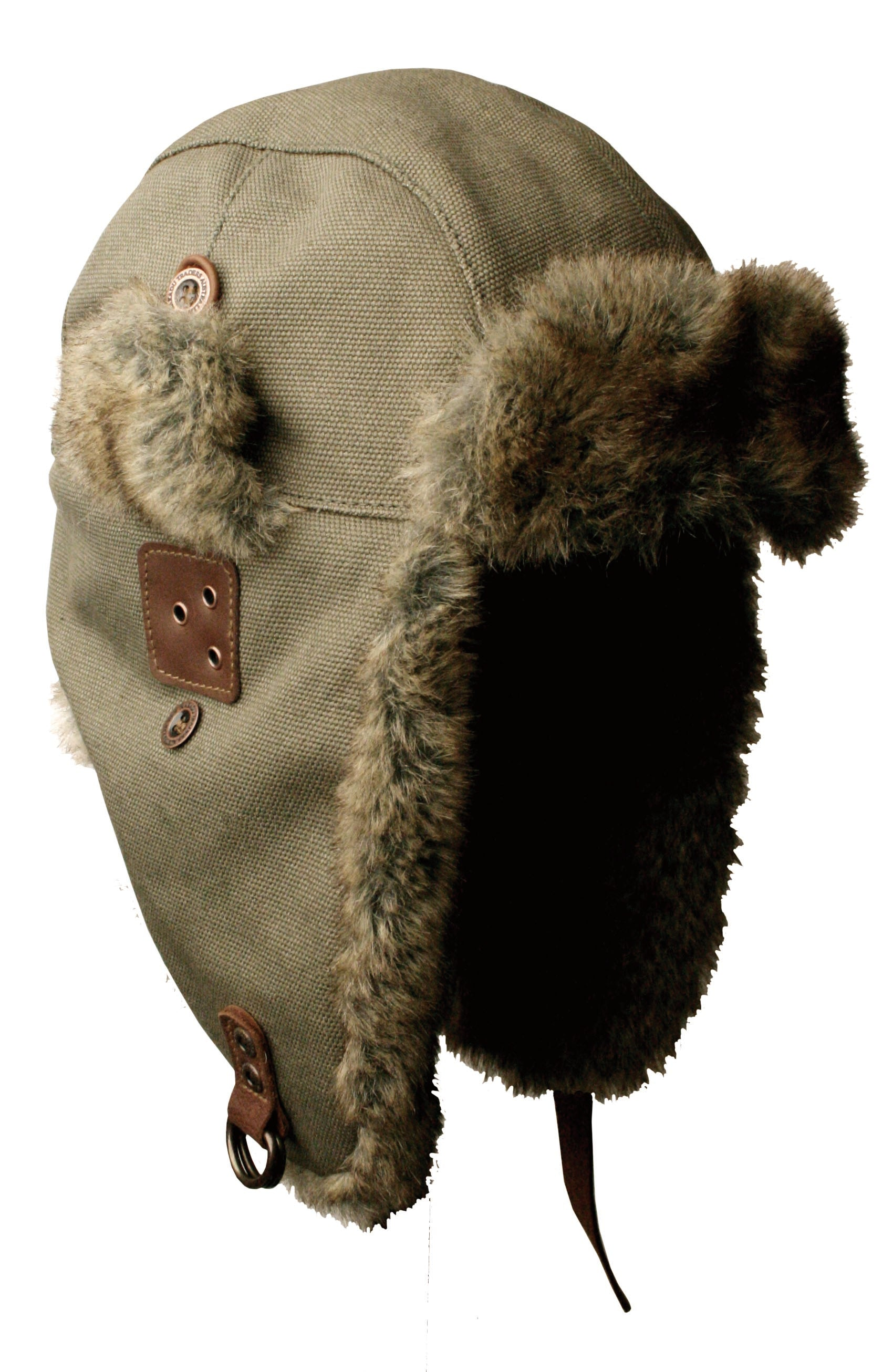 Huskie Aviator Hat in Sage